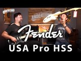 Fender USA Pro HSS Strats - Rob Gets His Fuzz On!!