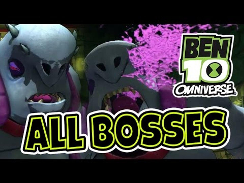Ben 10 Omniverse All Bosses | Boss Battles (PS3, X360, Wii, WiiU) Final Boss