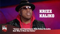 Krizz Kaliko - Issues and Experiences With Police Brutality And Why It Wont Get Better (247HH Exclusive)