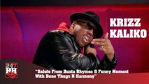 Krizz Kaliko - Salute From Busta Rhymes & Funny Moment With Bone Thugs N Harmony (247HH Exclusive) (247HH Exclusive)