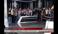 İMC TV'nin yayını böyle kesildi... 'Erdoğan karşı darbe gerçekleştiriyor'