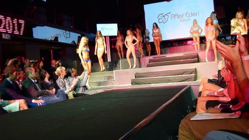 Défilé en bikini des finalistes à Miss Belgique 2017