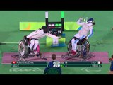 Day 9 evening   Wheelchair Fencing highlights   Rio 2016 Paralympic Games