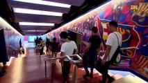 FCB Club: la visita dels Xiquets de Huangzhou al Camp Nou