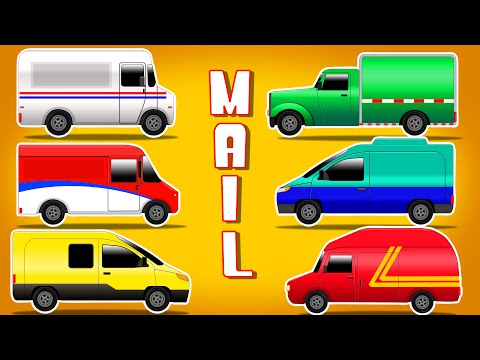 Mail Trucks | Mail Trucks Of Different Country | Mail Trucks Around The World