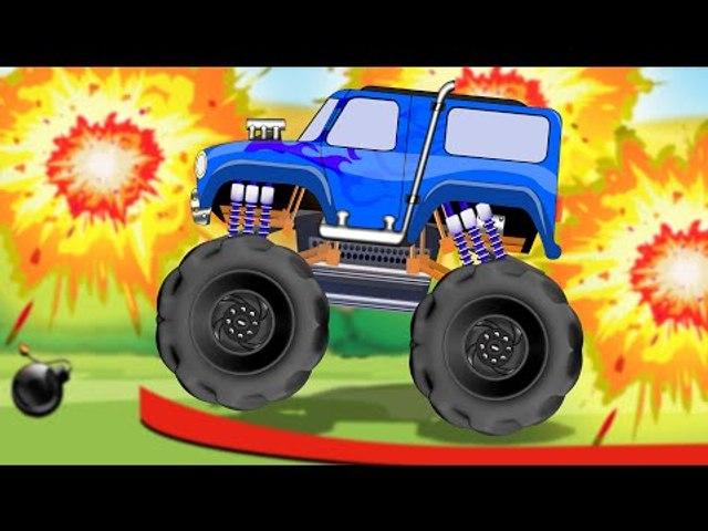 Monster Truck   baby videos   kids video   trucks   kids tv channel