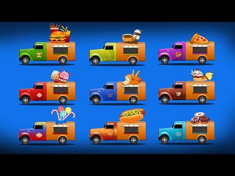 Food Trucks | Learn Name Of Food Trucks | Food And Its Trucks Names