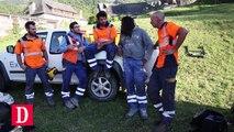 Hautes-Pyrénées : travaux extrêmes dans les gorges de Luz