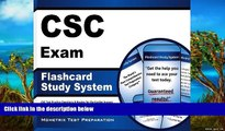 Big Deals  CSC Exam Flashcard Study System: CSC Test Practice Questions   Review for the Cardiac
