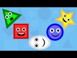 Five Little Shapes | Original Nursery Rhymes By Little Baby Club
