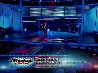 Terry Fator Top 8 Performance in Americas Got Talent