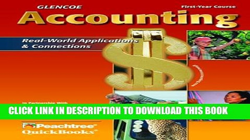 New Book Glencoe Accounting: First Year Course, Student Edition (GUERRIERI: HS ACCTG)