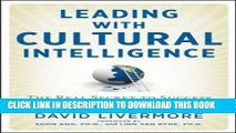 Collection Book Leading with Cultural Intelligence: The Real Secret to Success