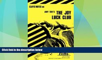 Big Deals  CliffsNotes on Tan s The Joy Luck Club (Cliffsnotes Literature Guides)  Best Seller