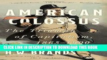 Collection Book American Colossus: The Triumph of Capitalism, 1865-1900