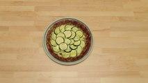 Pâte à pizza aux courgettes (sans gluten) en vidéo