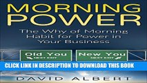[PDF] Morning Power:The Why of Morning Habit for Power in Your Business (Miracle Morning,Morning