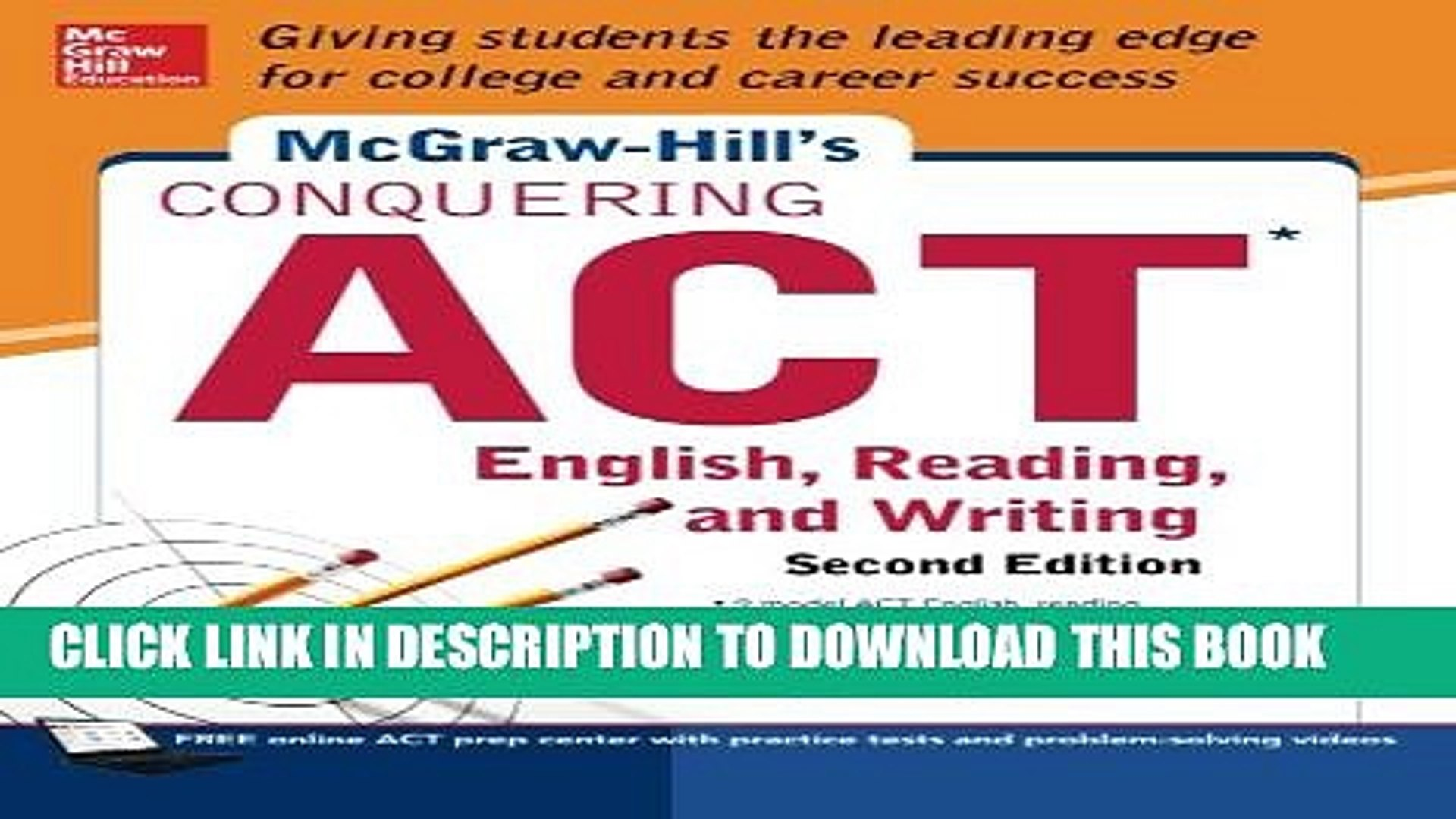 McGraw-Hills Conquering ACT: English, Reading, and Writing