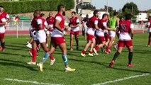 Agen : l'équipe de rugby de Tunisie en stage au SUA