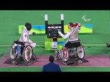 Wheelchair Fencing   France v HKG   Men's Team Foil - Bronze   Rio 2016 Paralympic Games