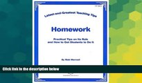 Must Have  Latest   Greatest Teaching Tips: Homework Foldout (Latest-and-Greatest Teaching Tips)