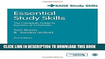 [PDF] Essential Study Skills: The Complete Guide to Success at University (SAGE Study Skills