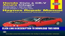[PDF] Honda Civic   CR-V - Acura Integra: Honda Civic - 1996 thru 2000 - Honda CR-V - 1997-2001 -