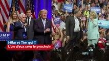 Qui sont Mike Pence et Tim Kaine, les colistiers de Trump et Clinton?