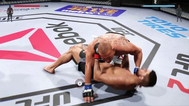 UFC® 205 | Kelvin Gastelum Vs. Donald Cerrone | Fight Simulation Video
