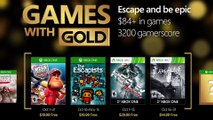 Xbox Games with Gold (October 2016)