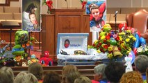 6-Year-Old Boy Killed in School Shooting Gets Laid to Rest Dressed as Batman