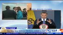 """""""Como jefe de Estado tengo la obligación de buscar y negociar la paz"""": Santos tras reunirse con Uribe"""