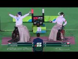 Day 8 evening   Wheelchair fencing highlights   Rio 2016 Paralympics games