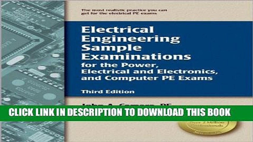 [PDF] Electrical Engineering Sample Examinations for the Power, Electrical and Electronics, and