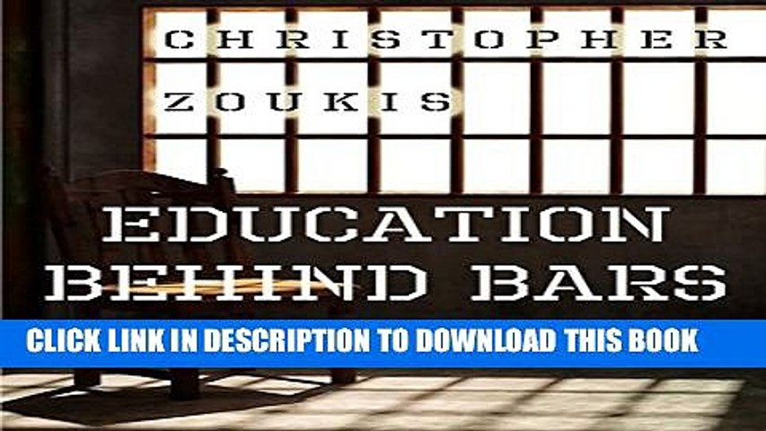 [PDF] Education Behind Bars: A Win-WIn Strategy for Maximum Security Full Online