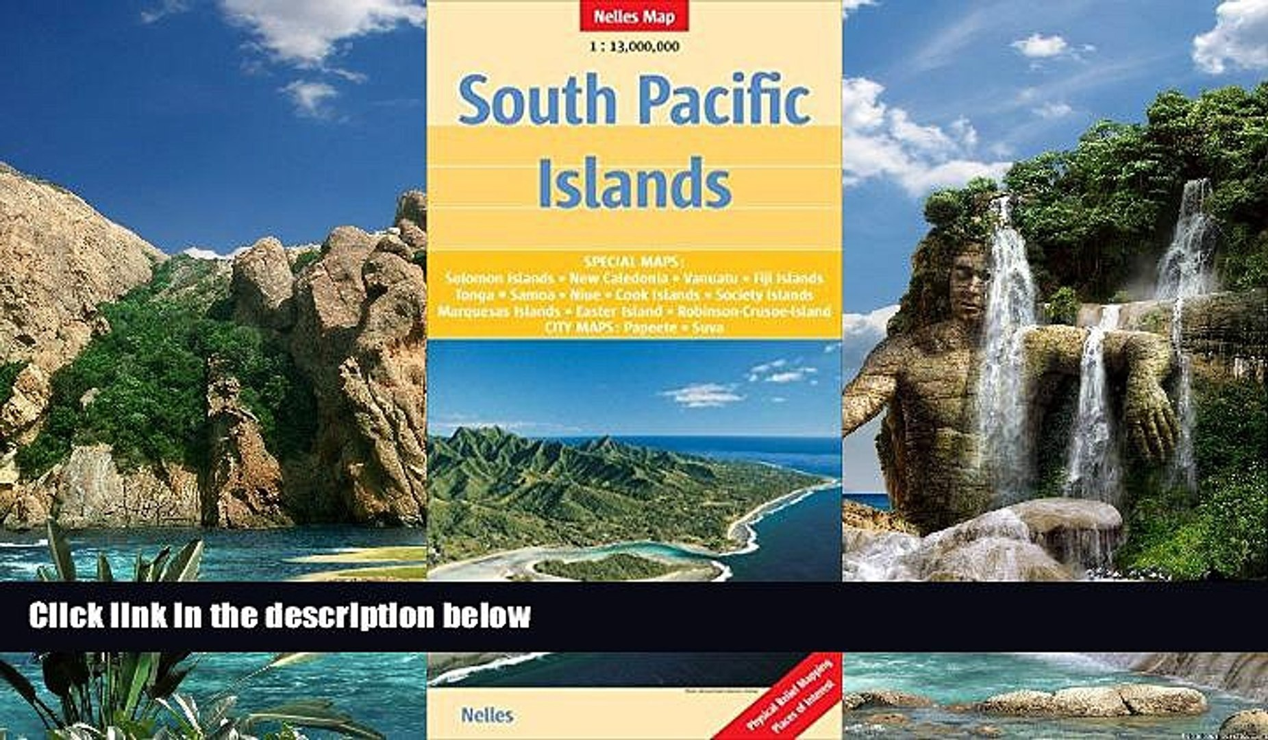 Big Deals  South Pacific Islands 1 : 13 000 000: Special maps of all major islands (English,