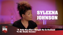 Syleena Johnson - R. Kelly Was Mad I Brought My Ex-Husband To His Studio Session (247HH Exclusive)  (247HH Exclusive)
