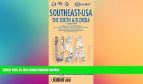Big Deals  Southeast: The South   Florida Road Map (USA 6) (English Edition)  Best Seller Books