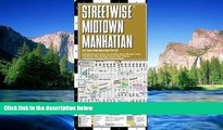 Big Deals  Streetwise Midtown Manhattan Map - Laminated City Street Map of Midtown Manhattan, New