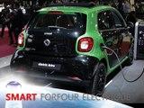 Smart Forfour Electrique en direct du Mondial de Paris 2016
