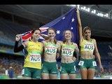 Athletics | Women's 4x100m - T35-38 Final | Rio 2016 Paralympic Games