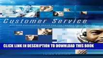 [PDF] Customer Service: Building Successful Skills for the Twenty-First Century Full Colection