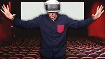 PlayStation VR : On a testé le mode Cinéma, impressionnant ou gadget ?