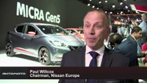Nissan at Paris Motor Show 2016 - Interview with Paul Willcox