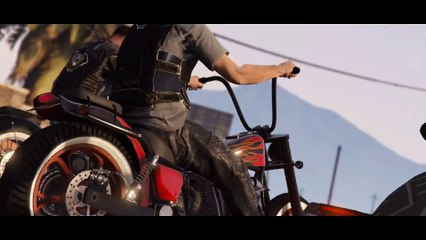 GTA Online Bikers Trailer de Grand Theft Auto V