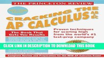 [PDF] Princeton Review: Cracking the AP: Calculus AB   BC, 1999-2000 Edition (Cracking the Ap