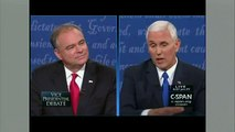 Pence To Kaine Our Sons Would Be Courtmartialed If They Acted Like Hillary Clinton