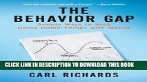 Collection Book The Behavior Gap: Simple Ways to Stop Doing Dumb Things with Money