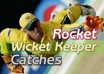 Rocket Wicket Keeper Catches In Cricket History Top 10