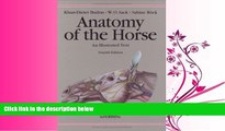 Choose Book Anatomy of the Horse: An Illustrated Text